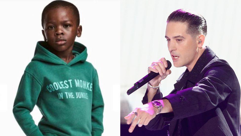 A composite image of the original hoodie and G-Eazy