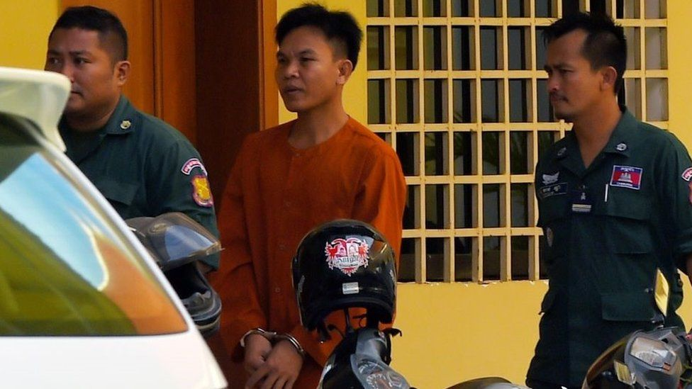 Oeuth Ang arrives in court