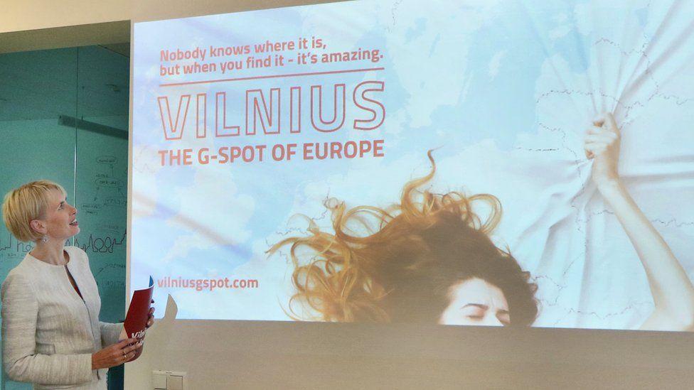 Go Vilnius tourism director Inga Romanovskiene launches publicity campaign on August 7, 2018