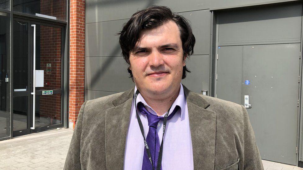Dr Geraint Sullivan, Swansea University