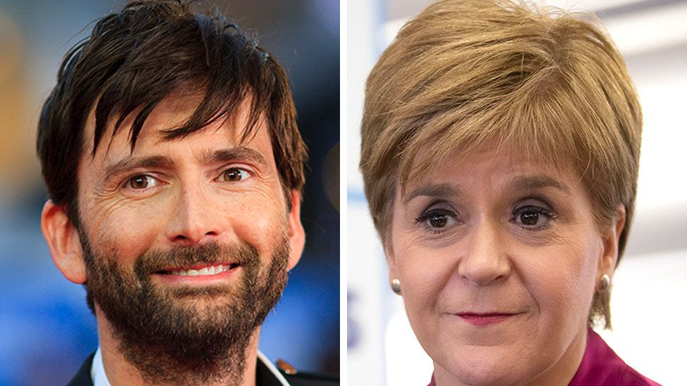 Scottish actor David Tennant was born in 1971 and Nicola Sturgeon in 1970