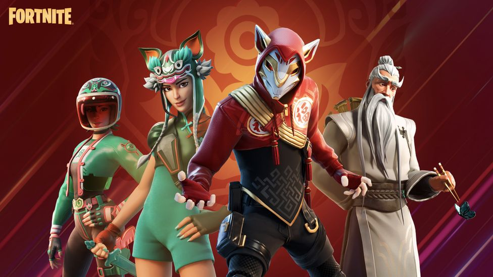 Fortnite character skins