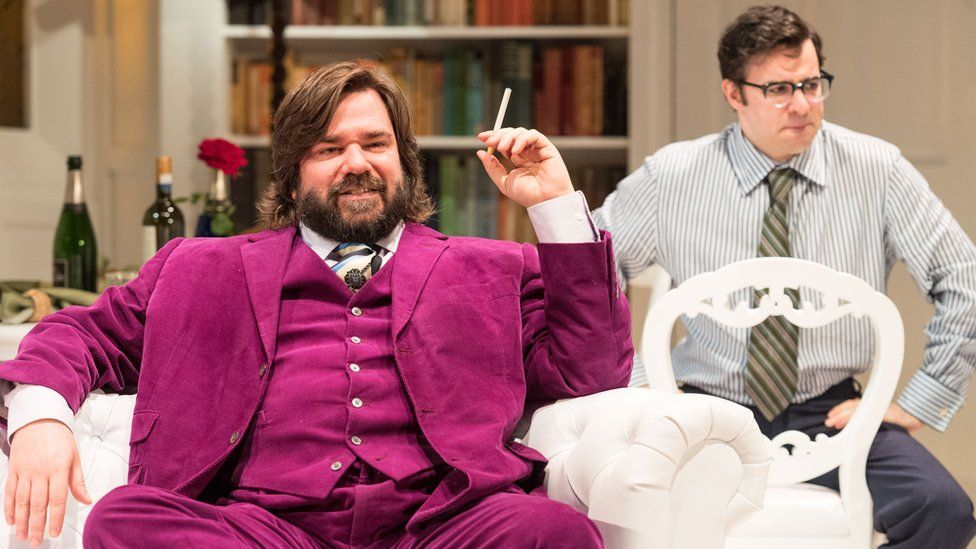 Matt Berry and Simon Bird in The Philanthropist
