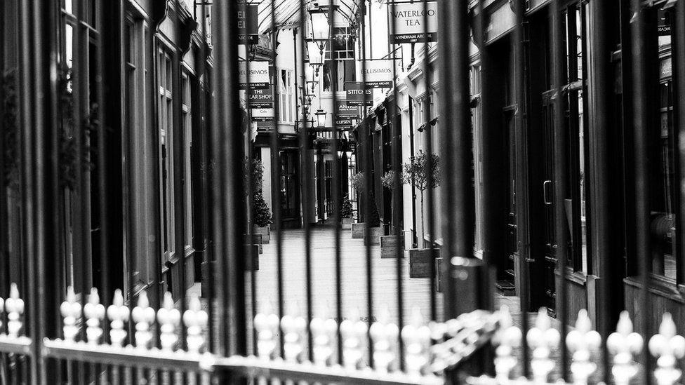 shopping arcade closed