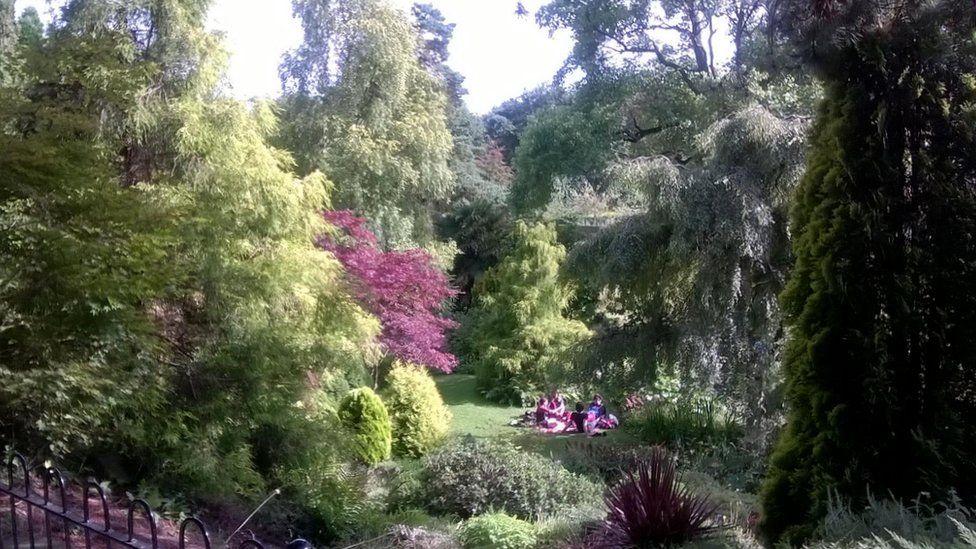 Alpine garden at Fletcher Moss Park