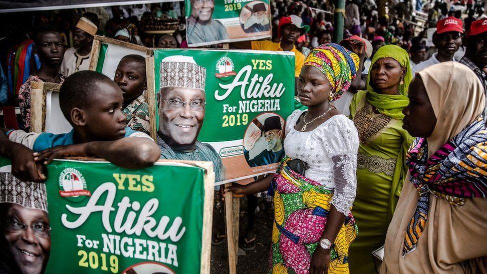 Rally for Atiku Abubakar in Adamawa, Nigeria