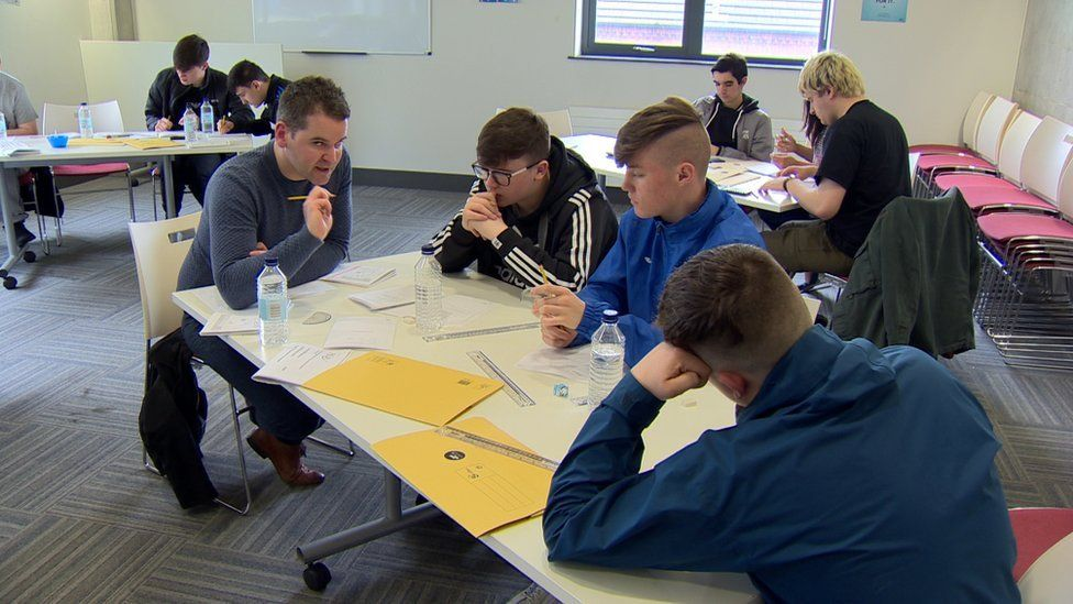 Lessons in Maths and English are targeted at those who require a little extra support to achieve a GCSE pass