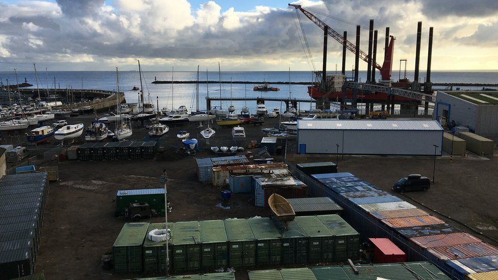 Containers at Port of Ramsgate