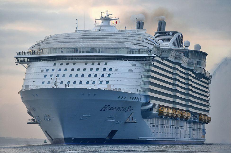 File image of Royal Caribbean's Harmony of the Seas
