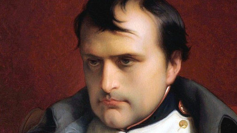 Napoleon portrait, by Hippolyte Delaroche