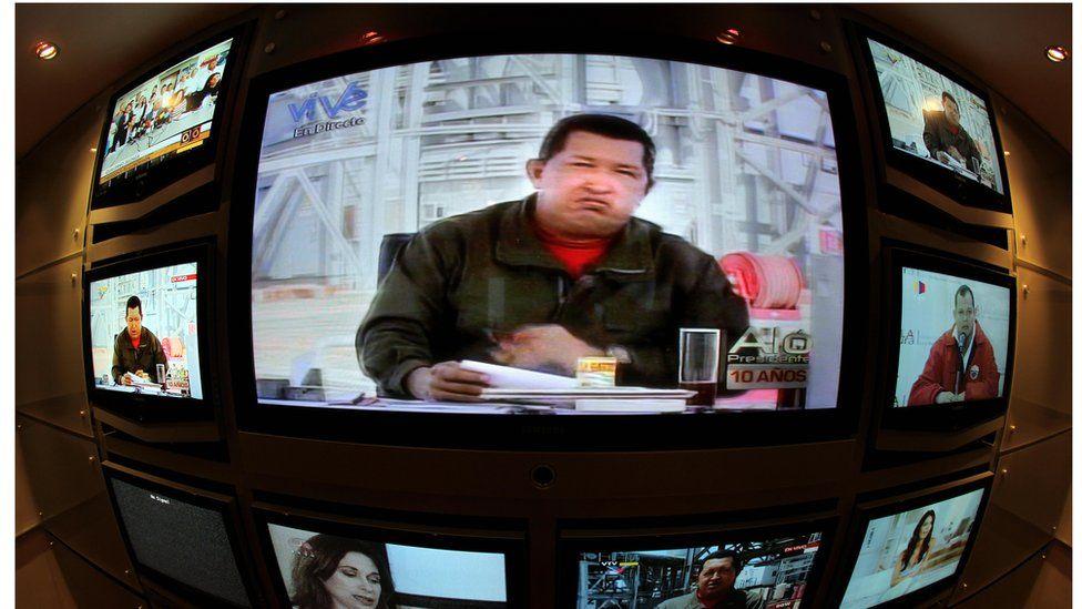 Venezuela TV monitors