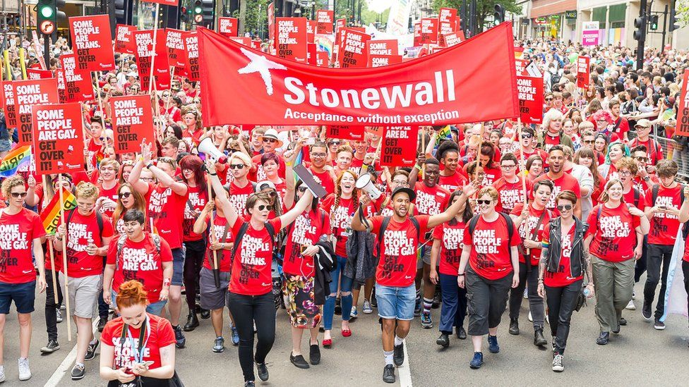 Stonewall at Pride in London 2015