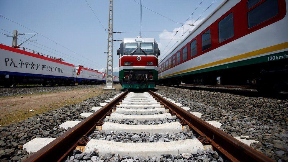 Addis Ababa to Djibouti railway system