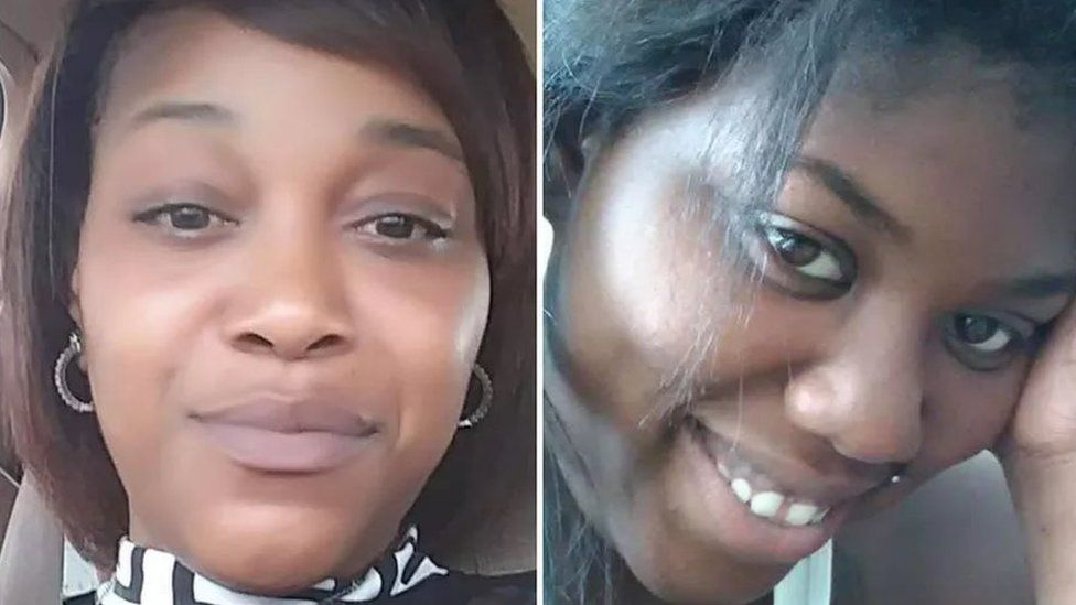 Andrea Stoudemire (left), 35, and Chantell Grant, 26