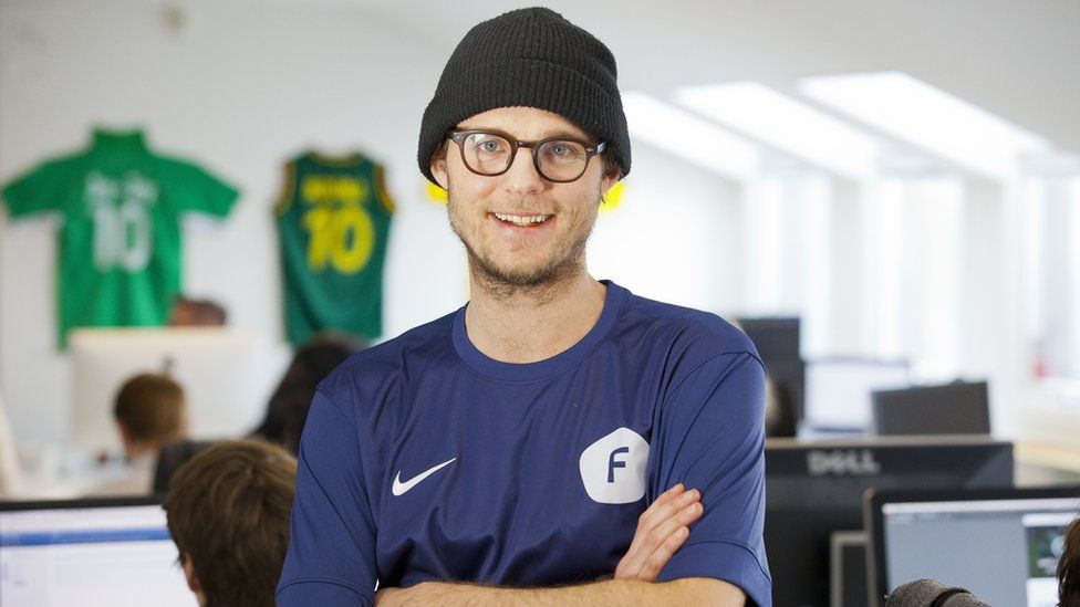 Patrik Arnesson, chief executive officer of Football Addicts