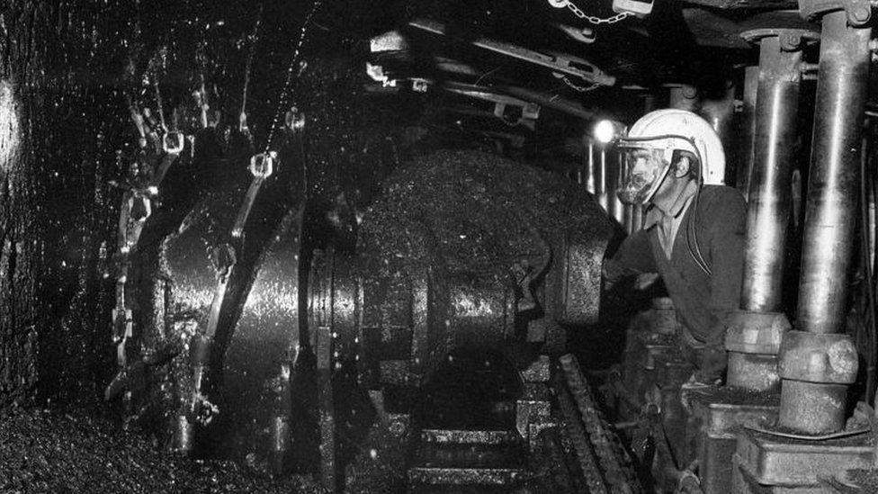 Kellingley worker in 1977