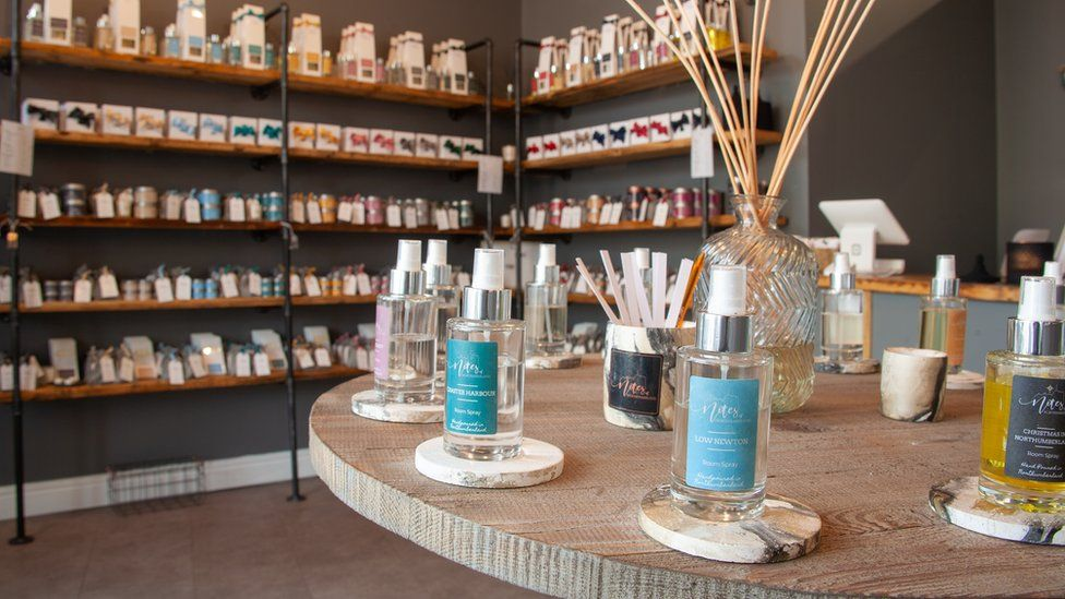 Notes of Northumberland shop