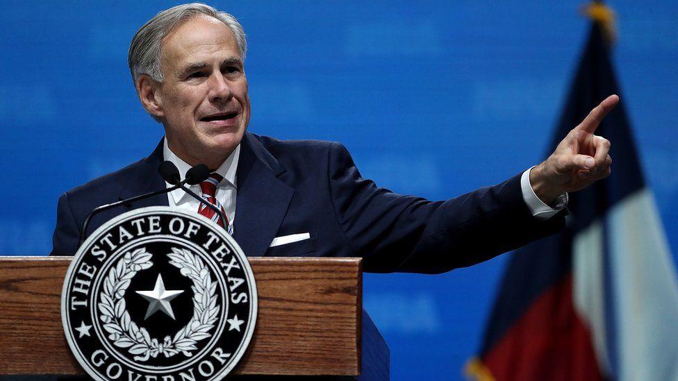 Texan Governor Greg Abbott