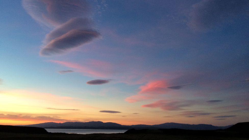 Clouds over the Isle of Kerrera