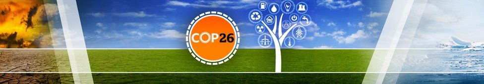 cop 26 banner