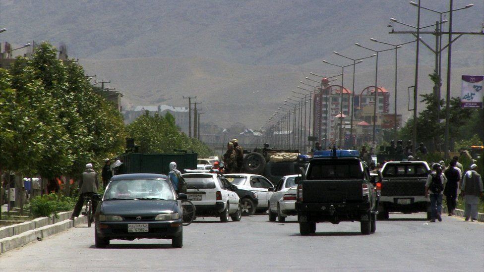 Military in Kabul