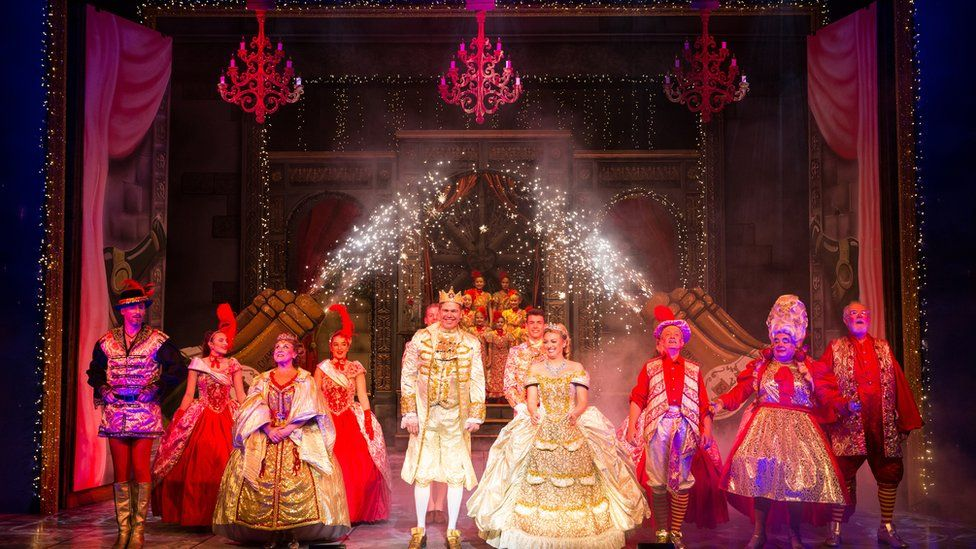 Beauty and the Beast at Bath Theatre Royal last year