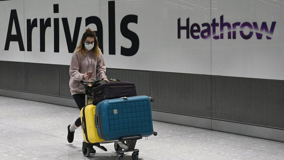 Covid: Why hasn't the UK banned all international flights? thumbnail