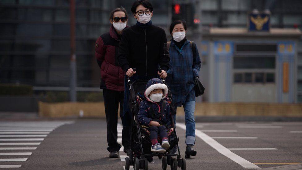 """PM2.5: las partículas invisibles responsables del """"desastre social"""" en Corea del Sur (y por qué generan tensiones con China)"""