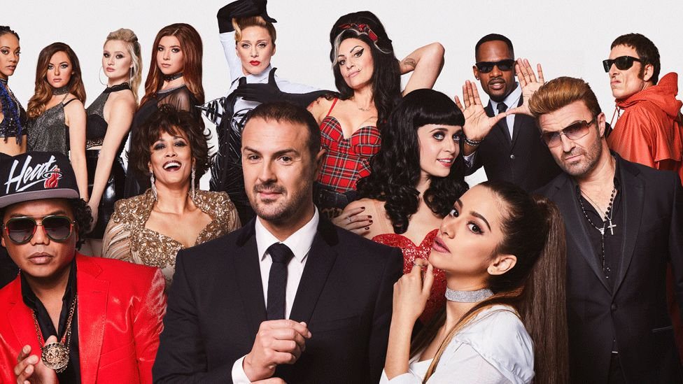 Paddy McGuinness and performers