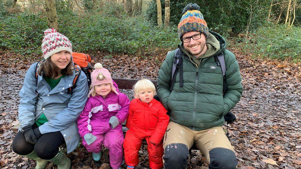 Lee Harman and family