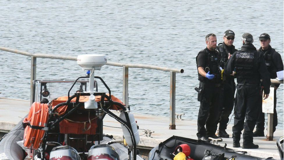Firefighter dies in boat crash near Neyland