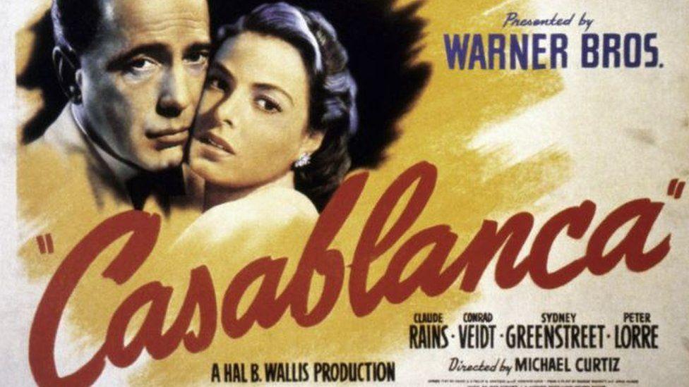 Casablanca film poster