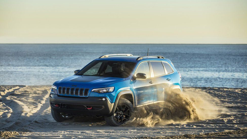 The Jeep Cherokee Trailhawk in 2021