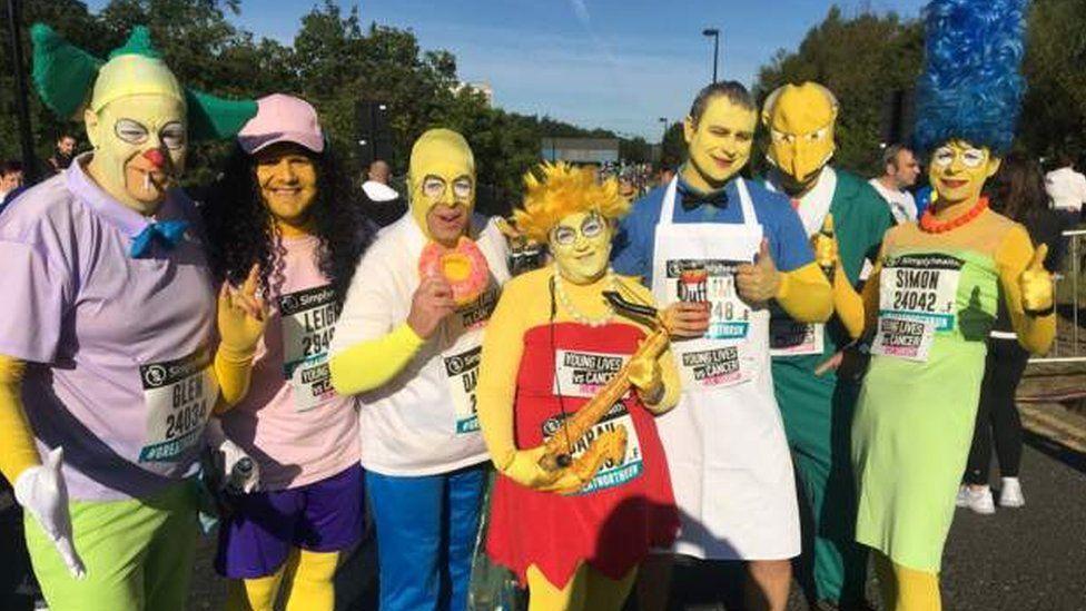 Great North Run participants