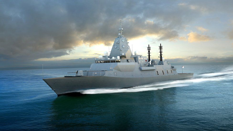 BAE's design for the global combat ship sold to the Australian navy