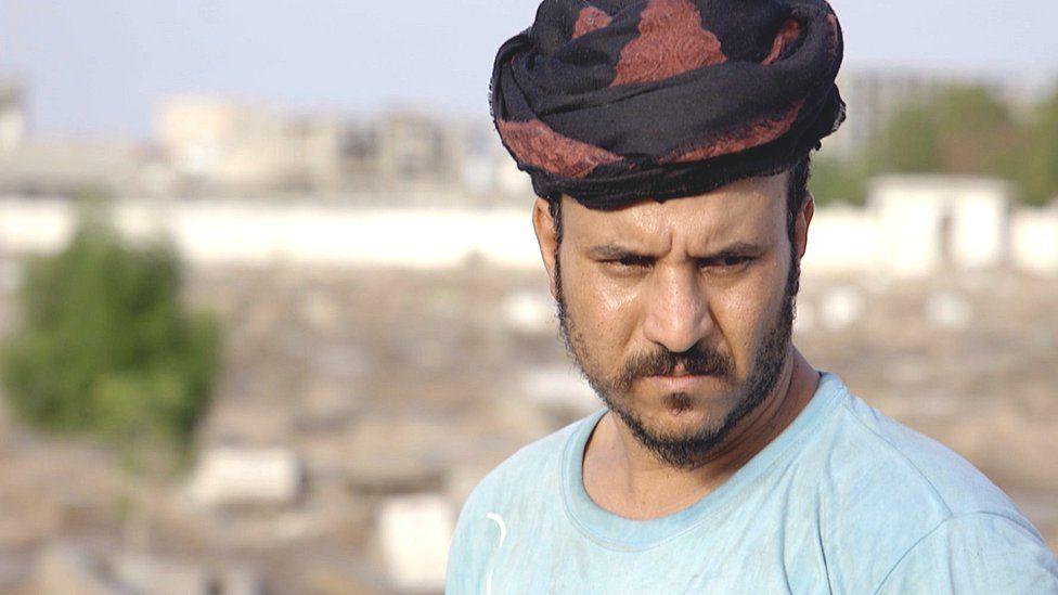 Gravedigger in Aden