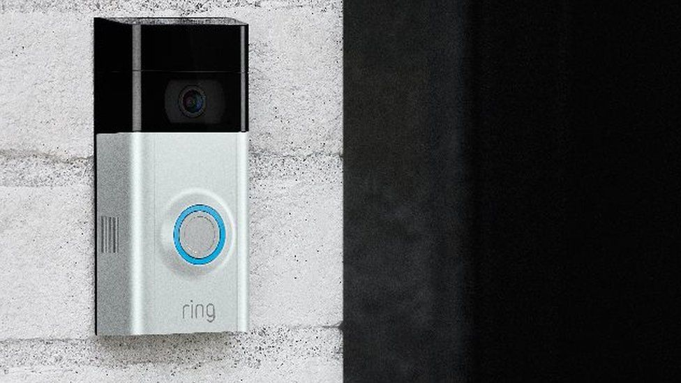 Amazon Ring: Phantom smart doorbell chimes alarm owners - BBC News