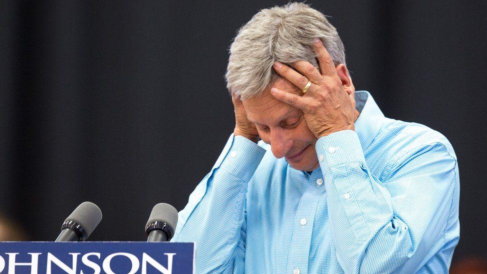 """""""¿Qué es Alepo?"""": la desafortunada respuesta que dejó en evidencia a Gary Johnson, el tercer candidato a la presidencia de Estados Unidos"""