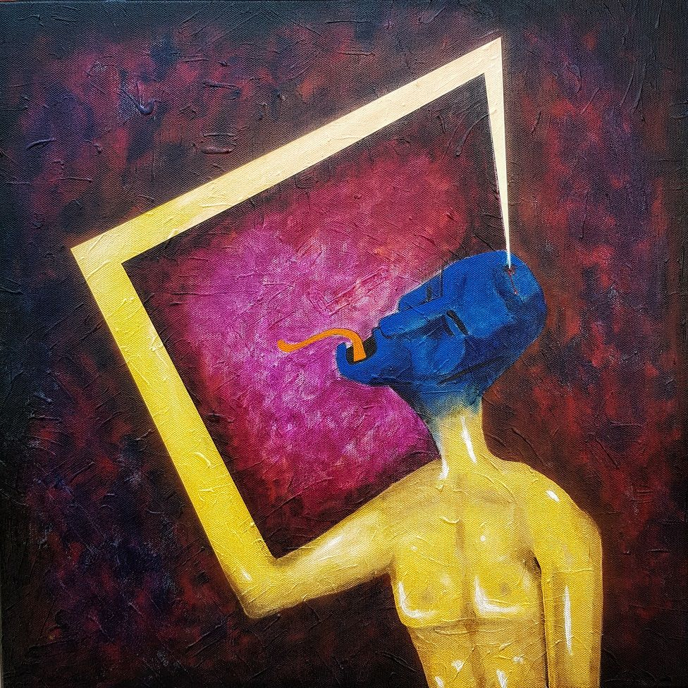 Art by Syed Mujtaba Rizvi