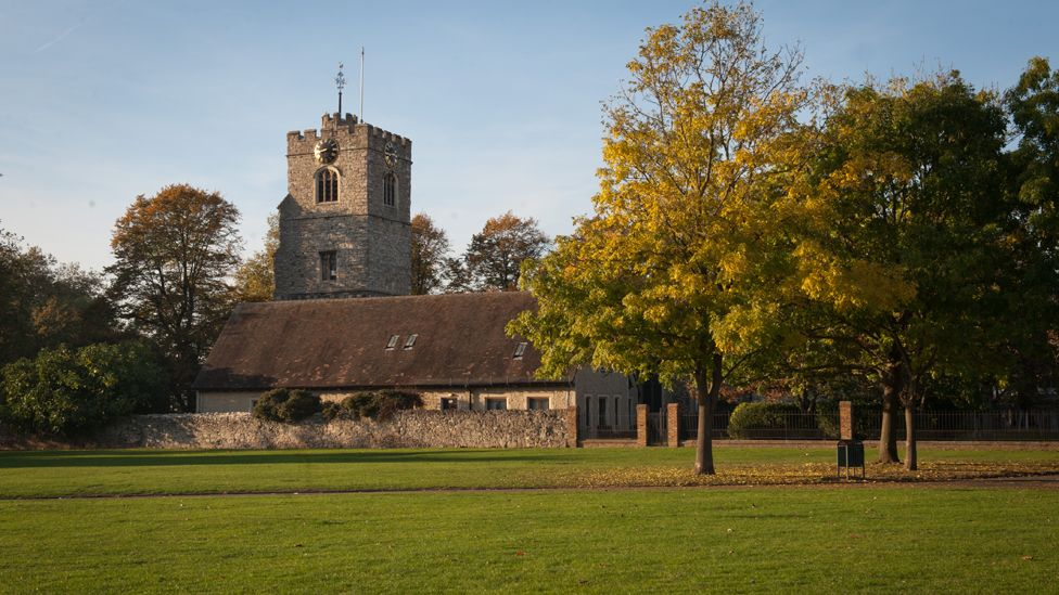 St Margaret's Church seen from the nearby green