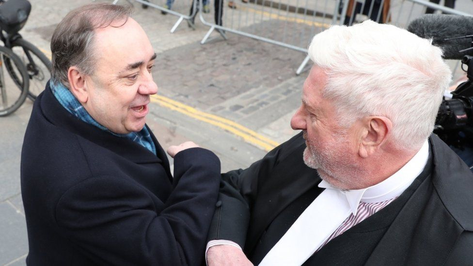 Alex Salmond's accusers 'devastated' by court verdict - BBC News