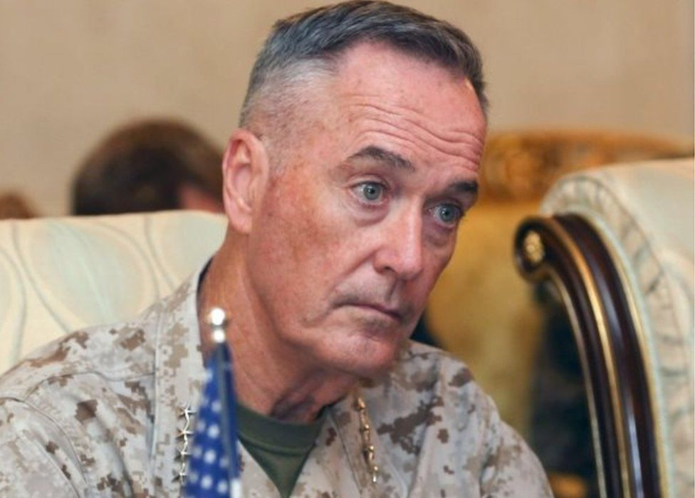 Chairman of the US Joint Chiefs of Staff, Joseph Dunford