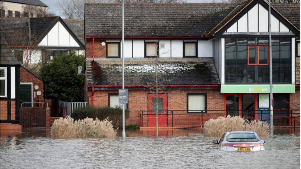 Northwich flooding