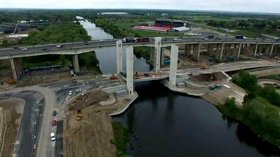 New bridge in Salford
