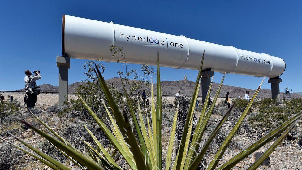 Hyperloop One tube