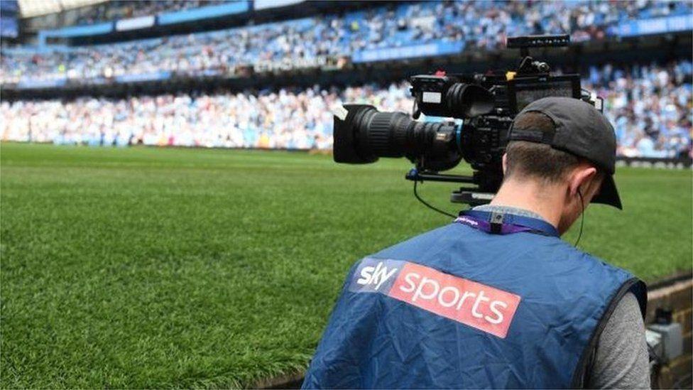 Sky Sports cameraman