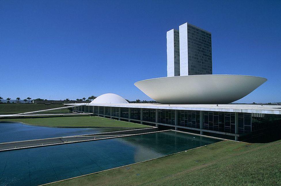 Three Powers square in Brasilia