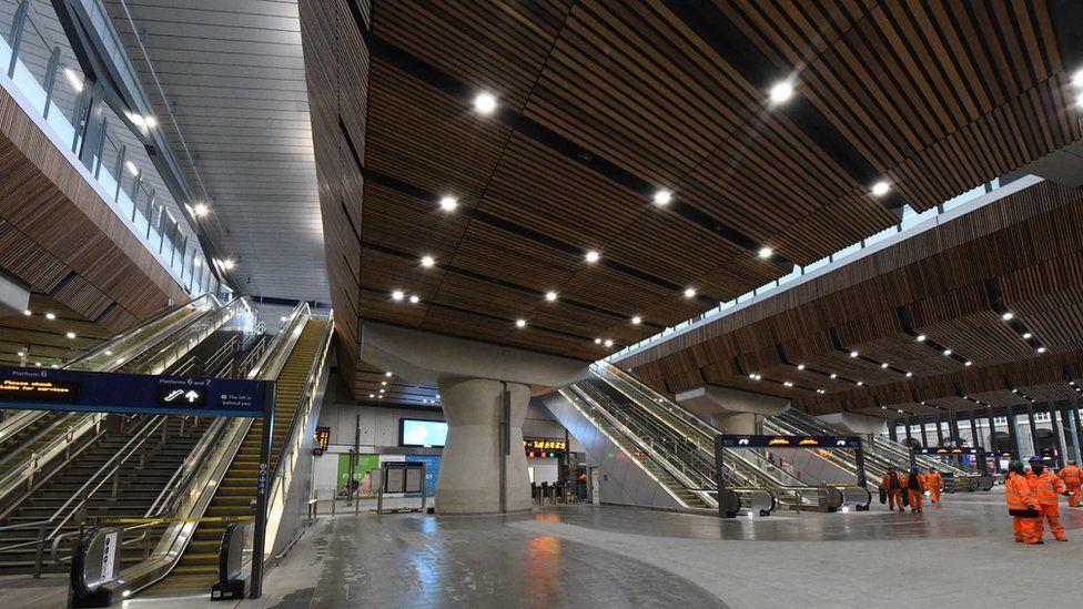 London Bridge station's new concourse
