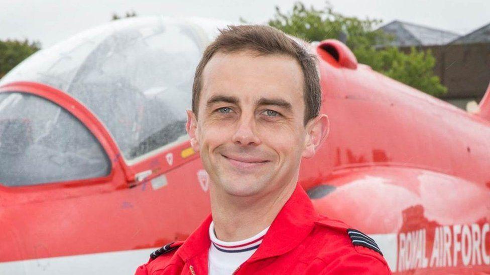 Flight Lt David Stark