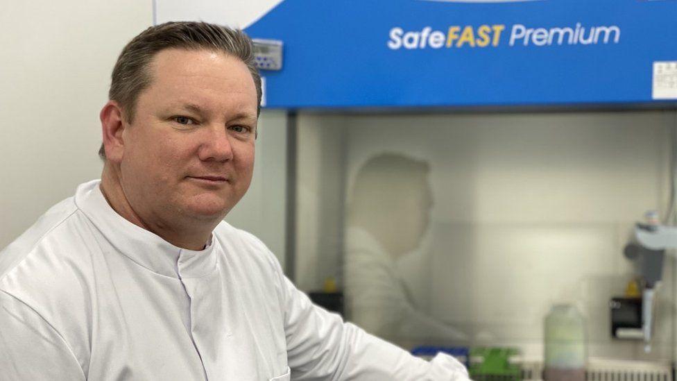 Adam Perriman, professor at the School of Cellular and Molecular Medicine at the University of Bristol